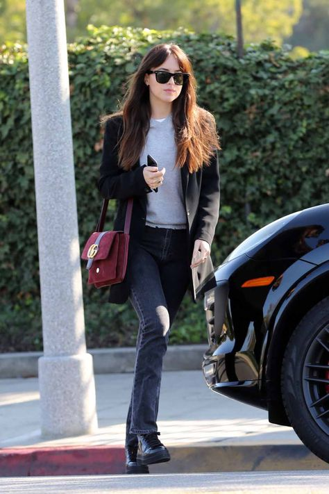 Dakota Johnson Street Fashion-Beverly Hills 11-01-2019