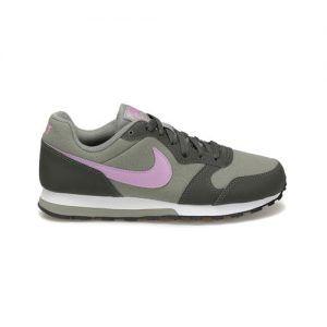 Nike Nike Md Runner 2 Gs Gray Lila Women Sneaker Shoes Shoes World Womens Sneakers Sneakers Shoes World