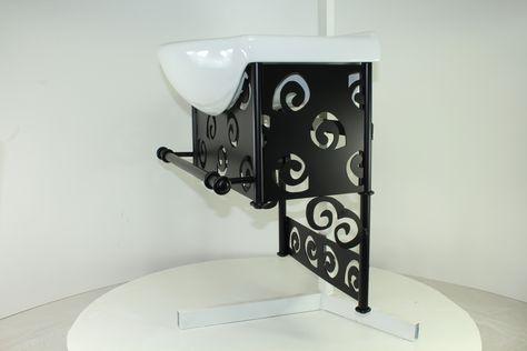 Bagno Mobile 47cm, da appendere, stile moderno. Avremo a disposizione presto http://www.artehierro.com/