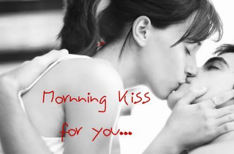 Romantic Kiss Good Morning Cards Images Morning Messages Morning