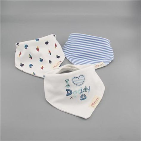 3pc Lot 100 Cotton Baby Boys And Girls Bibs Baby Towel Bandanas Scarf Children Cravat Infant Towel Baby Towel Baby Bibs Bandana Scarf
