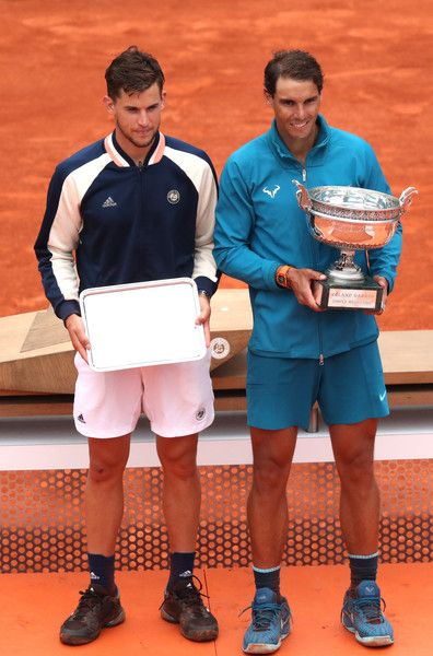 Dominic Thiem Photos Photos 2018 French Open Day Fifteen French Open Tennis Stars French