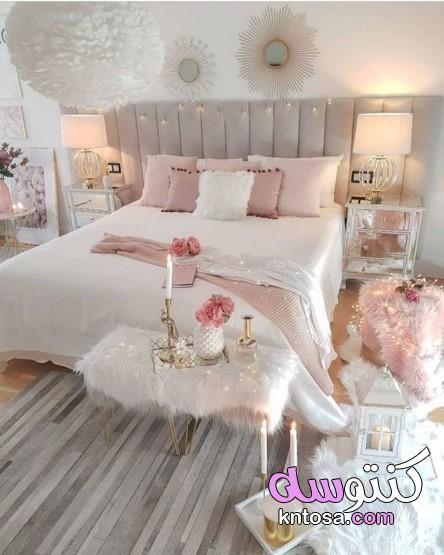 افكار لتزيين غرف النوم للمتزوجين بالصور غرف نوم مودرن 2021 كاملة غرف نوم Pink Bedroom Design Elegant Bedroom Romantic Bedroom Design