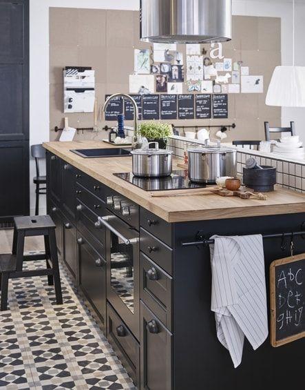 Cuisine Metod Laxarby du0027IKEA kjøkken Pinterest - möbel rogg küchen