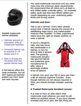 motorcycle accident lawyers in