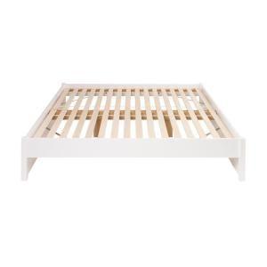 Prepac Select White King 4 Post Platform Bed Wbsk 1302 2k The