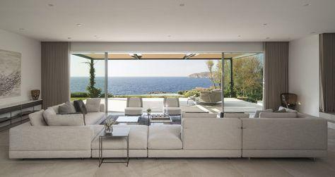 El Mediterráneo Más Elegante Casas De Lujo Terrazas Y Villas
