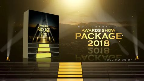 Award Show Package 2018 by MotionPhysix on Envato Elements