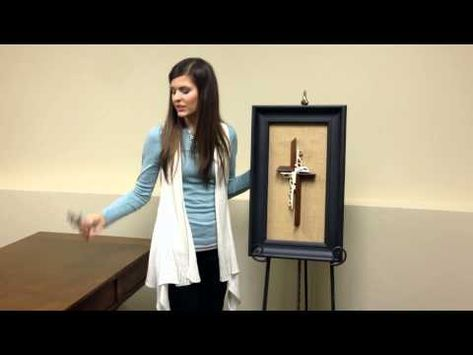 Video tutorial on our new Unity Cross Wall Sculpture! #unitycross #wedding #new #wallcross