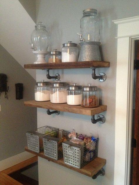 Industrial Style Shelf Listing is for 1 by JessiandCompanyLLC