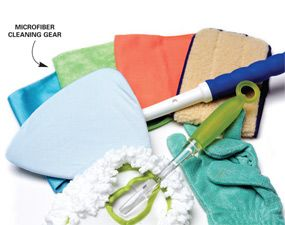 better than you EVER thought, microfiber cloth