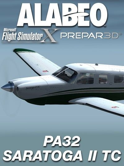 ALABEO : PA32 Saratoga II TC Features Alabeo GNS430 and