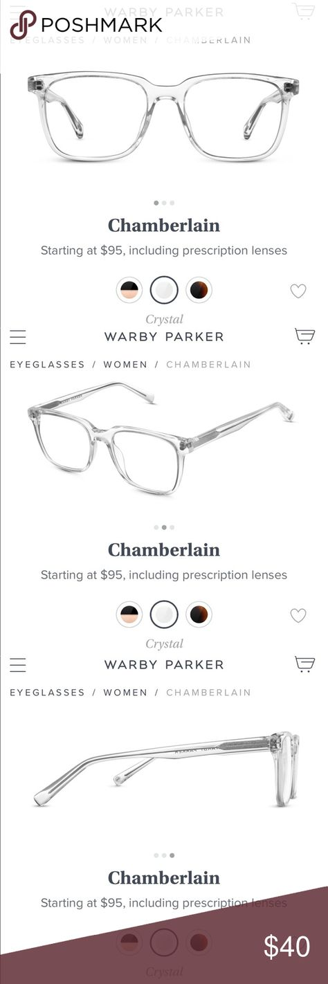 ffdc7165408b Warby Parker Chamberlain Glasses • • Warby Parker Chamberlain Glasses •  Pictures include details about