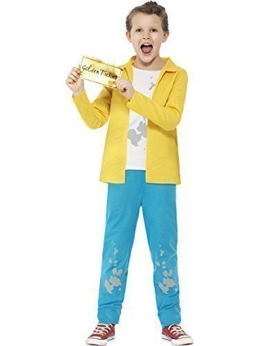 BOYS ROALD DAHL WILLY WONKA COSTUME CHARLIE /& THE CHOCOLATE FACTORY FANCY DRESS