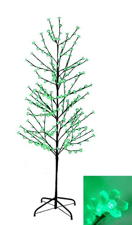 Enchanted Garden 6' Green Artificial Christmas Tree with 280 Single