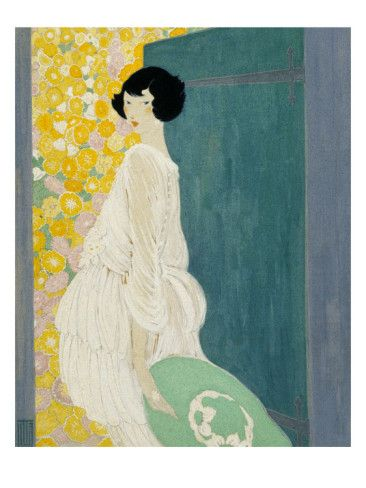 Vogue - May 1920 / by Helen Dryden. Illustration appeared on the May Vogue cover.