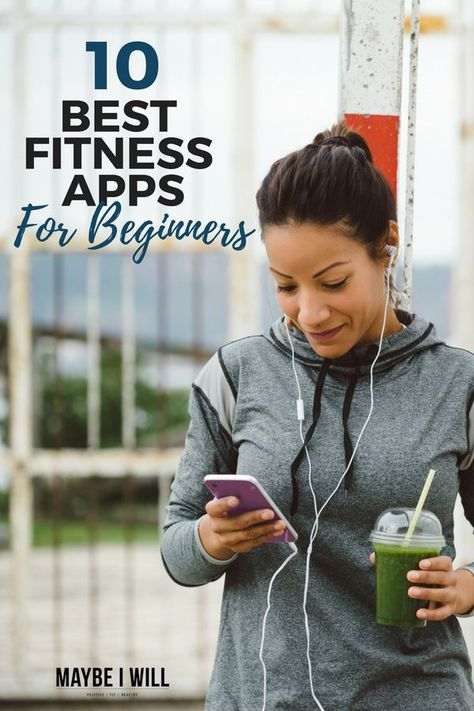 These 10 Awesome Fitness Apps For Beginners make it even easier to get started on your fitness journey! #fitness #workouts #fitnessapp #health #wellness #workout #exercise #app #beginner #weightloss