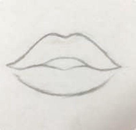 Best Art Sketches Lips 23 Ideas Art In 2020 Easy Drawings