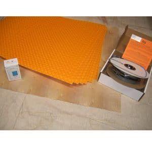 Ditra Heat Kit System Dhek12056 Schluter Heated Tile Floor Flooring Tile Floor