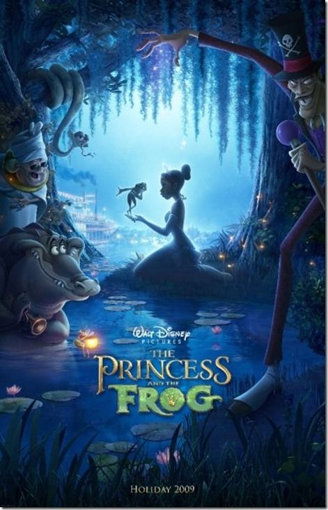 movie night- the princess and the frog.