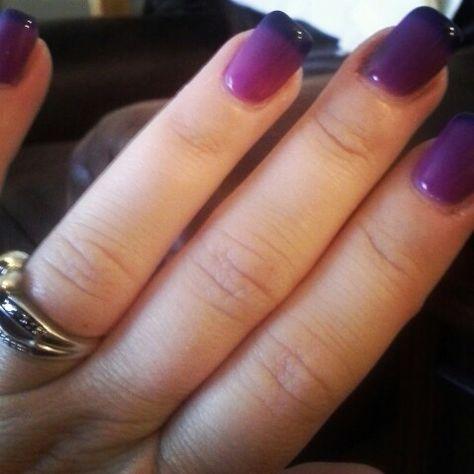 Gel II Reaction nails
