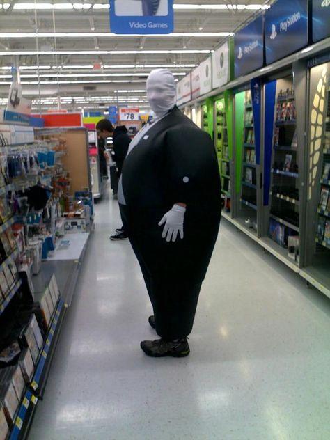 Chubby Man Slender Man really let himself go.