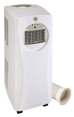 Spt Slimline 10 000btu Portable Ac With Heater Portable Air Conditioner Heater Heater Portable Air Conditioners