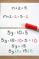 Middle School Algebra & Functions Activities: Balancing Equations: Step it Up!