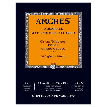 Arts Crafts Sewing Arches Watercolor Paper Watercolor