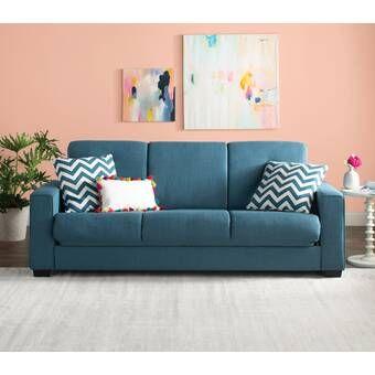 Zipcode Design Sabine Sleeper Loveseat Reviews Wayfair Minimalist Living Room Furniture Furniture Minimalist Living Room