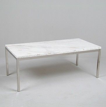 Florence Knoll coffee table marble Westlake Ave N Pinterest