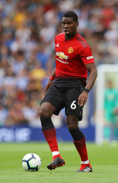 Paul Pogba Photos Photos Brighton Hove Albion Vs Manchester United Premier League Manchester United Football Club Manchester United Premier League Pogba Manchester