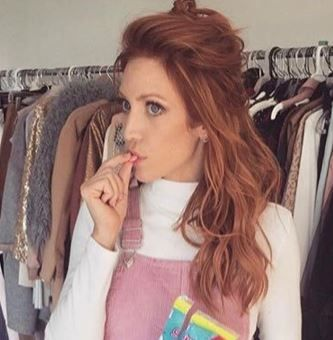 Sweet Tarts Advertisment Hair Color Auburn Strawberry Blonde Hair Red Hair Color