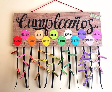 Birthday board for classroom decoration - #birthday #board #classroom #decoration #maternitydiy