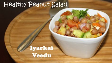 #healthy #Healthyfood #Salad #Peanut #Breakfast #Instant #iyarkaiveedu #Recipe #Delicious #PeanutSalad