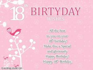 Continue To Inspire And Give Happiness To Many People Just Like What You Re Birthday Wishes For Daughter Birthday Wishes For Myself Happy 18th Birthday Quotes