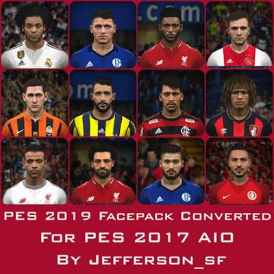 PES 2019 NEW FACEPACK CONVERTED FOR PES 2017 Faces List : Alessandro