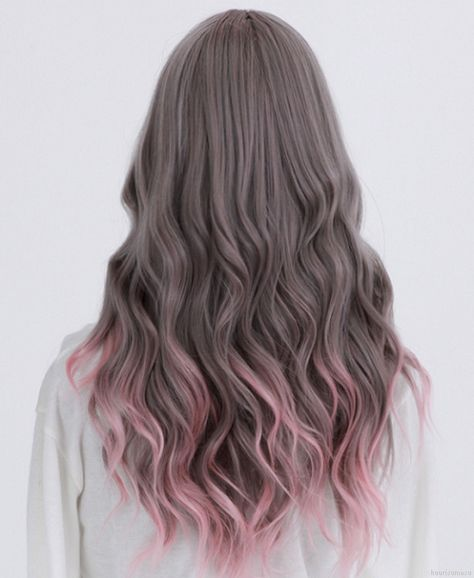 Maybe I'll do this to the last bit of bleach when I've almost grown out my hair!