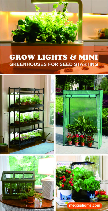 Grow Lights Mini Greenhouses Green House