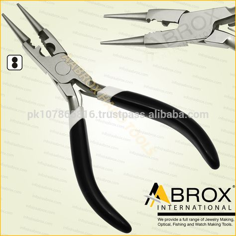 Round Nose Pliers Long nose Pliers Jewellery Making Watchmaking Fishing tools