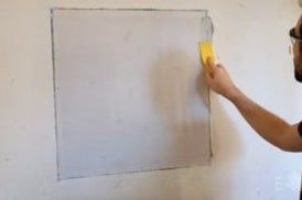 How To Patch Large Holes In Drywall Repair Drywall Hole Fixing Drywall Holes Drywall