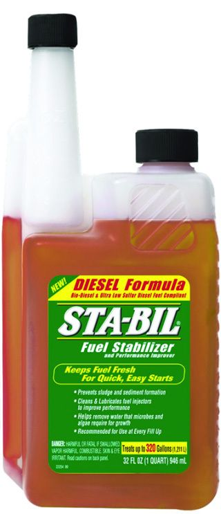 Sta Bil 22254 32oz Diesel Fuel Stabilizer In 2020 Diesel Fuel Diesel Fuel