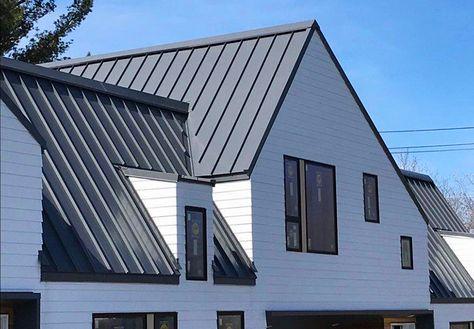 Aluminum Made Roof Snow Birds Alpharain Standing Seam Metal Roof Standing Seam Roof Residential Metal Roofing