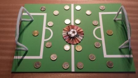 Geldgeschenk Fussballfan Cash Fussballfan Geldgeschenk