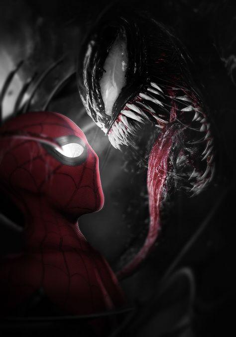 Spider-Man meets Venom - Black and Red