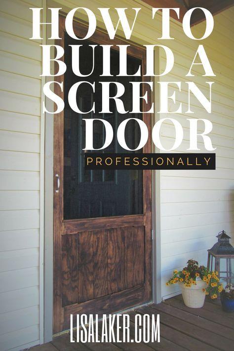 Wood Screen Door Painted Screen Doors Metal Screen Doors Diy