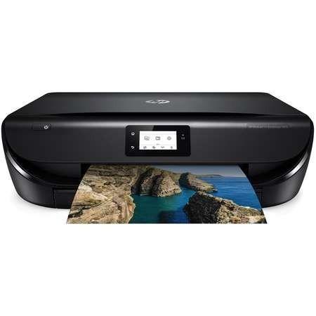 Multifunctionala Hp Advantage 5075 All In One Inkjet Wifi Negru Wireless Printer Hp Instant Ink Printer