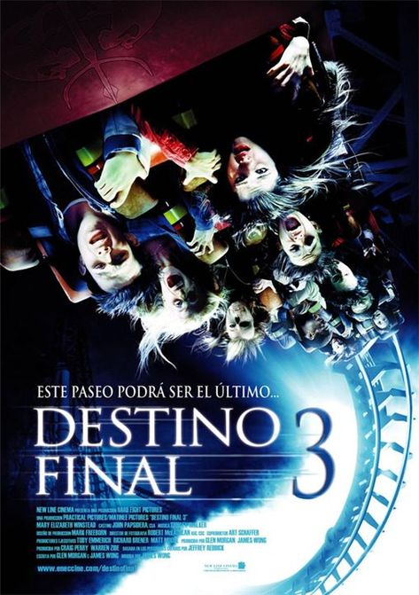 Destino Final 3 2006 Ago Terror Eeuu Sinopsis Una Estudiante Del Instituto Winstead Tiene Una Final Destination Movies Final Destination 3 Streaming Movies
