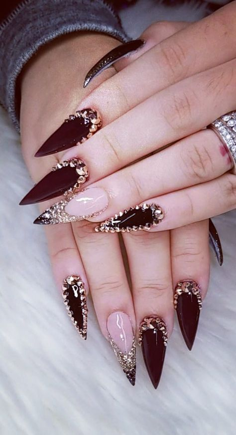 38 Creative Acrylic Nail Designs With Amazing Images Part 11