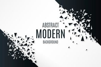 Download Abstract Background With Broken Shapes For Free Vector